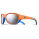 Julbo Luky Spectron 4 Sunglasses Kids 4-6Y Orange/Cyan Blue-Gray Flash Silver